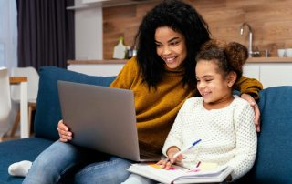 Teaching Kindergarten Online is Hard | Brightside Academy Ohio